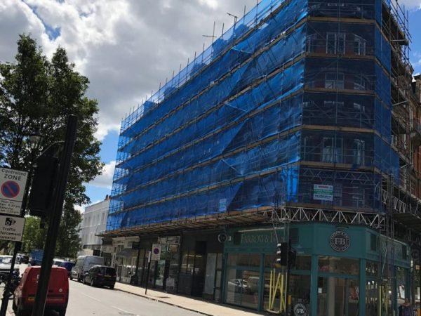 Commercial Scaffolding Camden