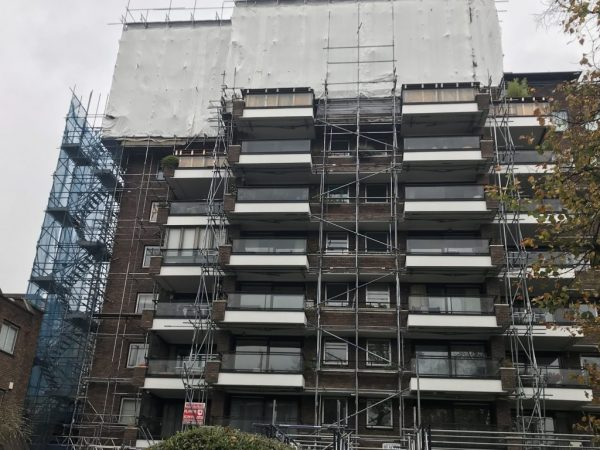 Commercial Scaffolding Services in Islington