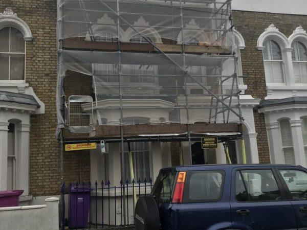 Domestic Scaffolders in Camden