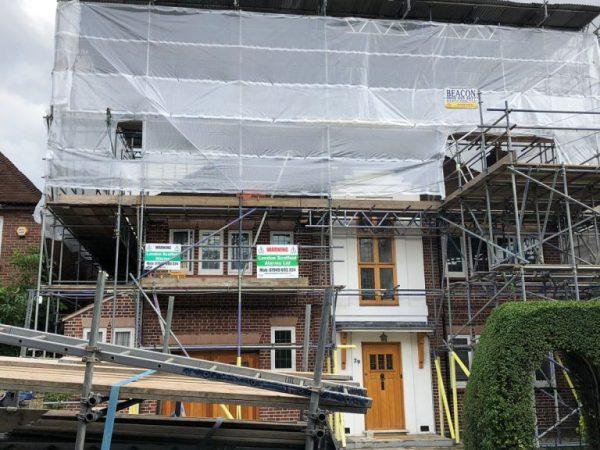 Domestic Scaffolding Services in Islington