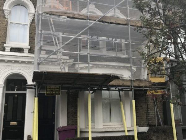 Domestic Scaffolding Services in Redbridge