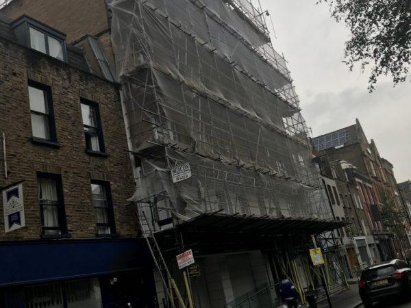 Domestic Scaffolding in Camden